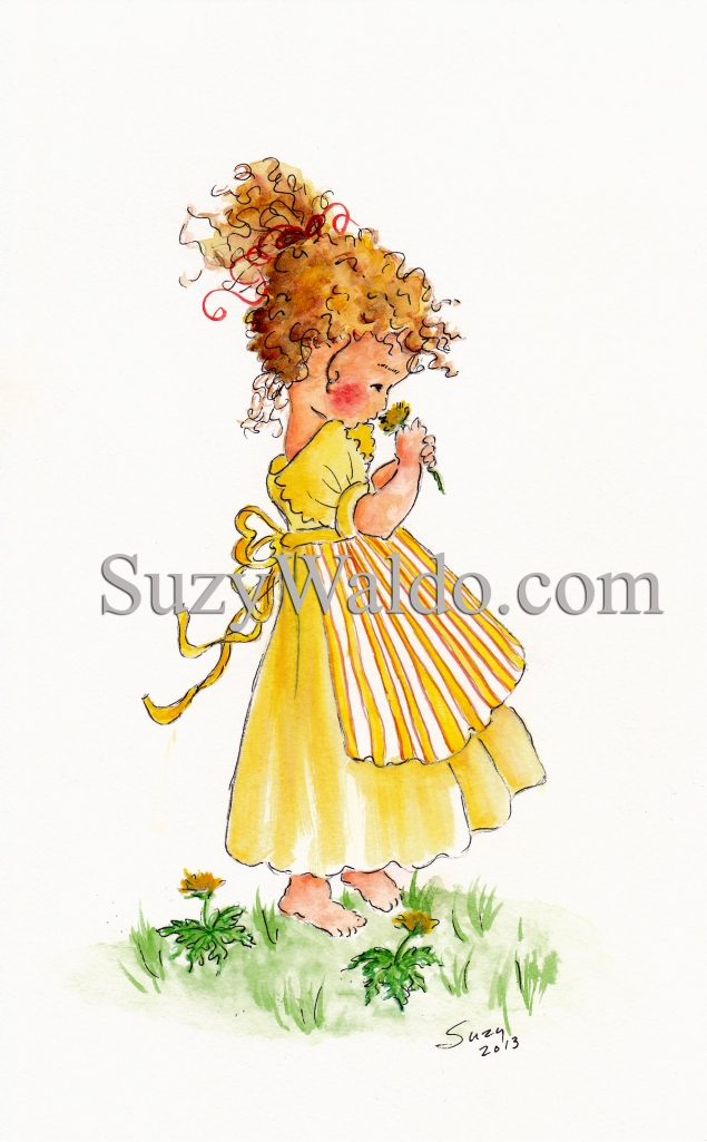 yellow Dress Watermark